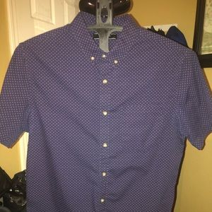 A forever 21 short sleeve button up